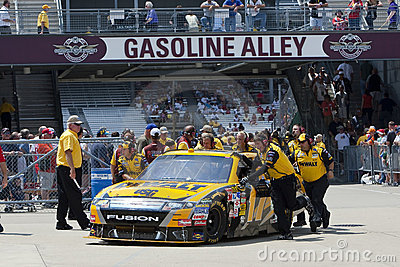 NASCAR:  DeWalt Ford Allstate 400 at the Brickyard