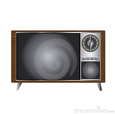 Retro Style TV Set