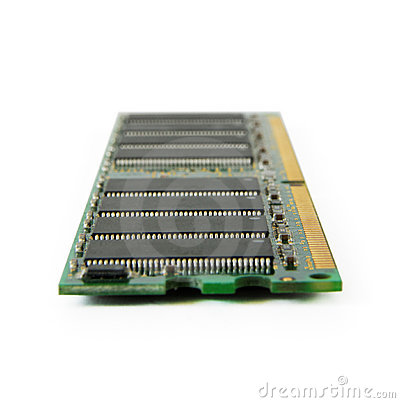 Computer memory plank