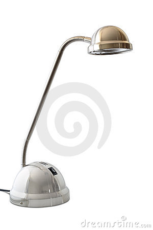 Modern halogen desk lamp