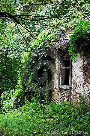 Abandoned peasants house