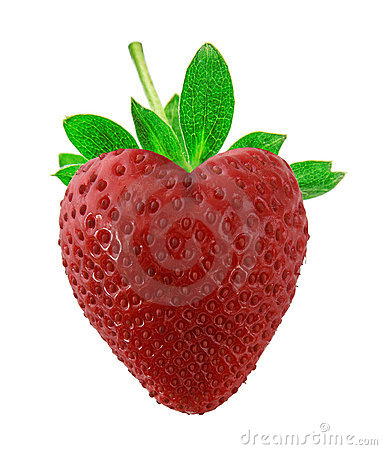 Strawberry as heart