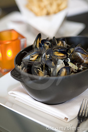 Steamed Mussells