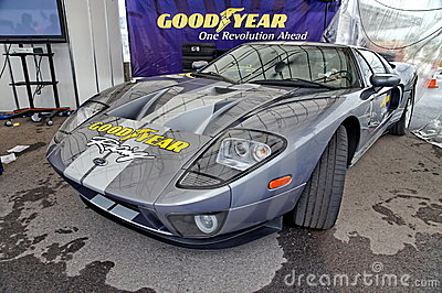 Ford GT super car on display