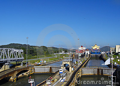 Through the Locks, Panama Canal