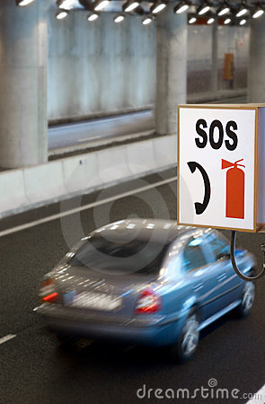 Roadside SOS Sign