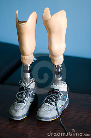 Child's Artificial Legs