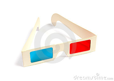 Cinema stereo glasses