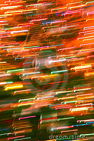 Abstract Christmas light