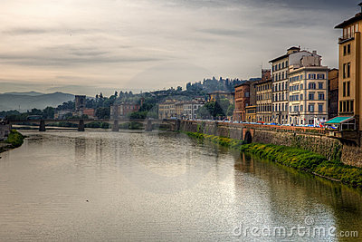 Beautiful landscape of Florence