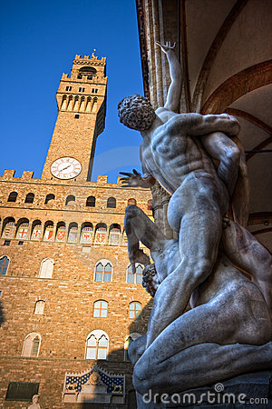 Rape of the Sabines, Florence