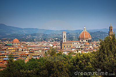 Firenze panoramic cityscape