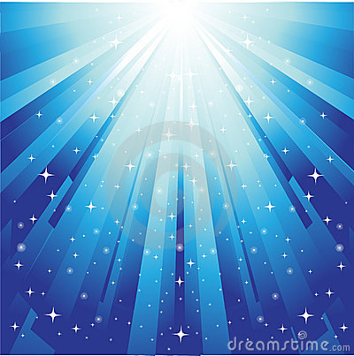 Sunburst festive background