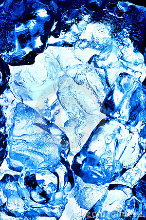Chipped ice