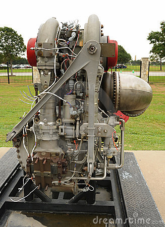 Old rocket engine