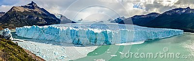 Perito Moreno Glacier in Los Glaciares National Park in El Calafate, Argentina, South America