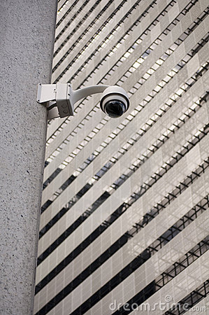 Security cameras in the city