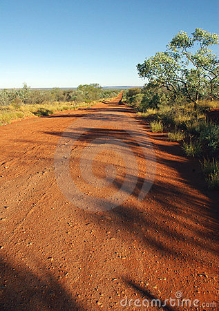 Road in the Australian desert
