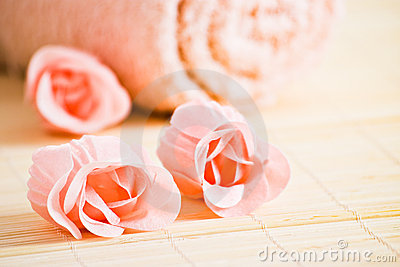 Pink soaps