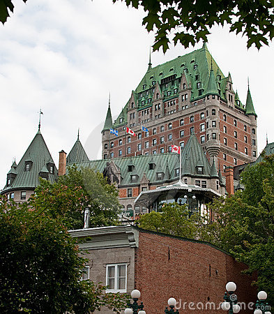 Chateau frontenac seen from lower town