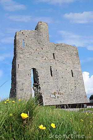 Ballybunions old castle ruins