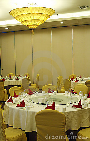 Chinese-style banquet hall
