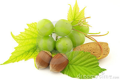 Grapes and nuts
