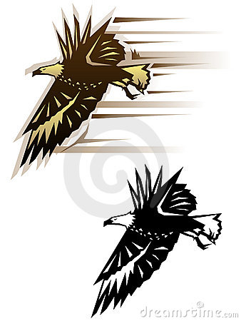 Graphic eagle