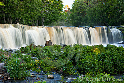 Waterfall in Estonia