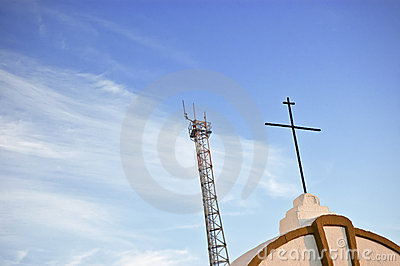 Cross and antenna