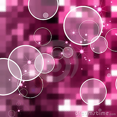Abstract circle pink background