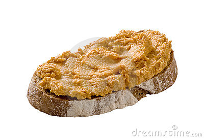 Slice of bread and spread