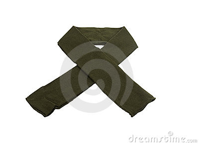 Military support scarf