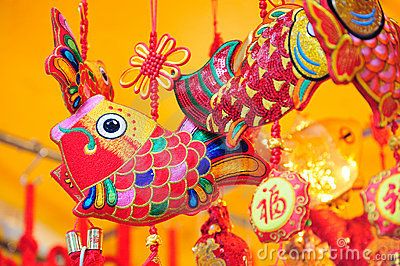 Colorful Chinese Decorations