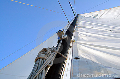 Sails and line