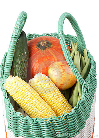 Vegetable in bag
