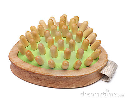 Wooden massager