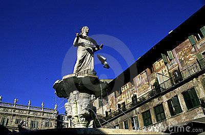Fountain Lady Verona