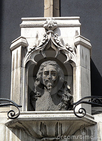 Charles 1 Bust St Margaret's Church London