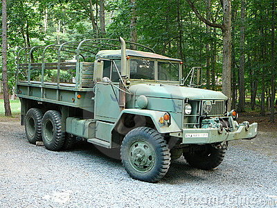 Surplus Army Truck -1
