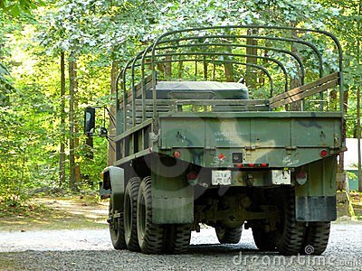 Surplus Army Truck