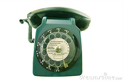 Old retro phone