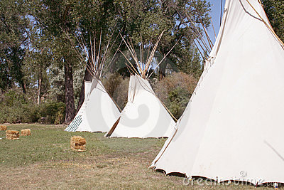 Native American Tipis