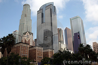 Downtown City of Los Angeles Buildings