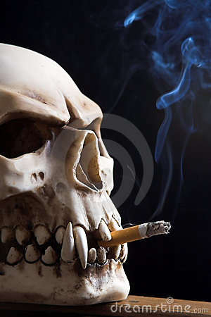 Smoking death