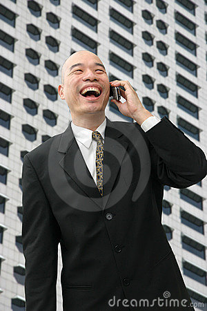 Chinese man in suit