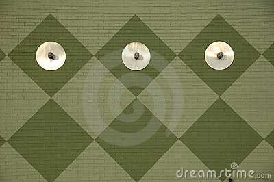 Diamond Pattern Wall