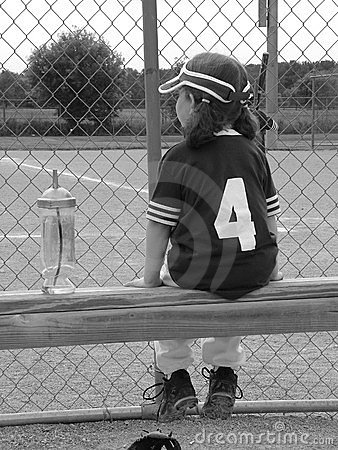 Girl T-Ball Player