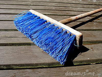 Colourful broom