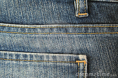 Jeans. The seam. The background. 5